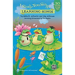 Alfred I Sing, You Sing Learning Songs Book & CD (00-41854)