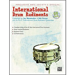 Alfred International Drum Rudiments Book with CD (00-18048)