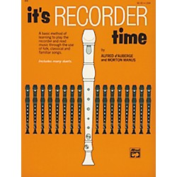 Alfred It's Recorder Time Book (00-674)