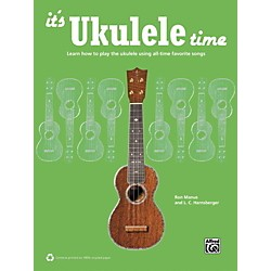 Alfred It's Ukulele Time Book (00-42315)