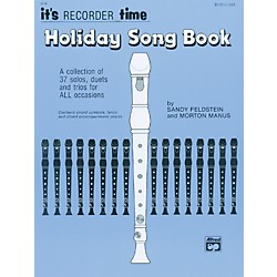 Alfred Its Recorder Time: Holiday Songbook (00-2070)