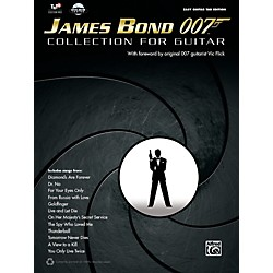 Alfred James Bond 007 Collection for Easy Guitar Book & DVD ROM (00-40655)