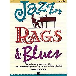 Alfred Jazz Rags & Blues Book 1 (00-6642)