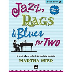 Alfred Jazz Rags & Blues for Two Book 2 (00-21387)