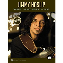 Alfred Jimmy Haslip Modern Improvisation for Bass Book (00-33580)