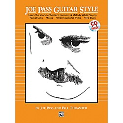 Alfred Joe Pass Guitar Style Book & CD (00-14165)
