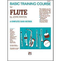 Alfred John Kinyon's Basic Training Course Book 1 Flute (00-701)