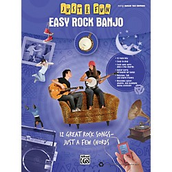 Alfred Just for Fun: Easy Rock Banjo (Book) (322276)