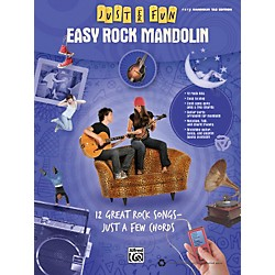 Alfred Just for Fun: Easy Rock Mandolin (Book) (322275)