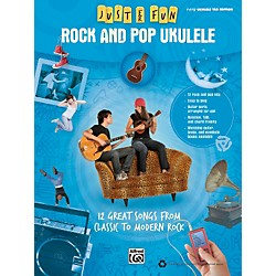 Alfred Just for Fun: Rock and Pop Ukulele (Book) (322278)