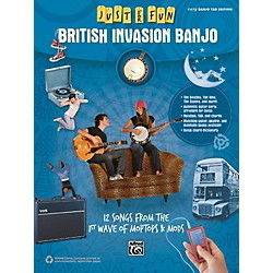 Alfred Just for Fun British Invasion Banjo Book (00-42567)