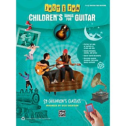Alfred Just for Fun Children's Songs for Guitar Easy Guitar TAB Book (00-41034)