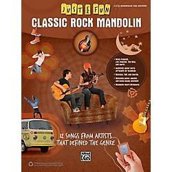 Alfred Just for Fun Classic Rock Mandolin Book (00-42691)