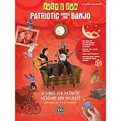 Alfred Just for Fun Patriotic Songs for Banjo Easy TAB Book (00-41060)