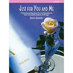 Alfred Just for You & Me Book 1 (00-6657)