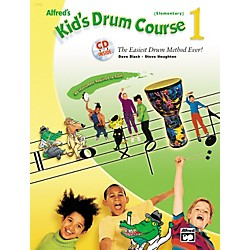 Alfred Kid's Drum Course 1 (Book/CD) (00-23182)