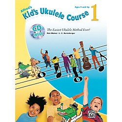 Alfred Kid's Ukulele Course 1 Book and CD (00-35278)