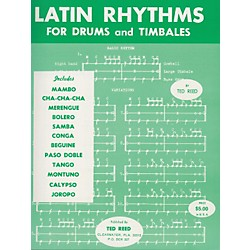 Alfred Latin Rhythms for Drums and Timbales Book (00-17312)