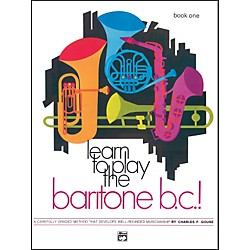 Alfred Learn to Play Baritone B.C.! Book 1 (00-737)