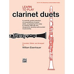 Alfred Learn to Play Clarinet Duets Book (00-861)