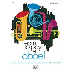 Alfred Learn to Play Oboe! Book 1 (00-730)