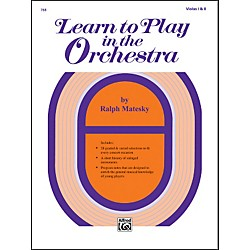 Alfred Learn to Play in the Orchestra Book 1 Violas I & II (00-768)