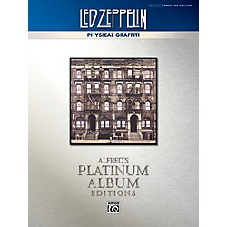 Alfred Led Zeppelin - Physical Graffiti Platinum Bass Guitar Book (00-40939)