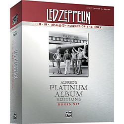 Alfred Led Zeppelin Box Set I-V Guitar Tab Platinum Edition Books (00-36745)