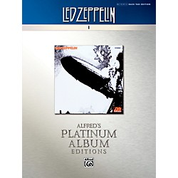 Alfred Led Zeppelin I Platinum Bass Guitar Book (00-40934)