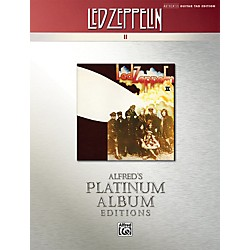 Alfred Led Zeppelin II Guitar Tab Platinum Edition Book (00-32440)