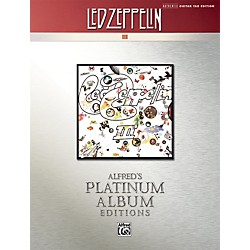 Alfred Led Zeppelin III Guitar Tab Platinum Edition Book (00-32441)