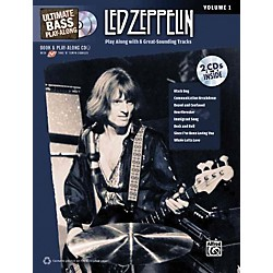 Alfred Led Zeppelin Ultimate Play Along Bass Volume 1 With 2 CD's (00-32198)