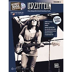 Alfred Led Zeppelin Ultimate Play Along Bass Volume 2 With 2 CD's (00-32201)