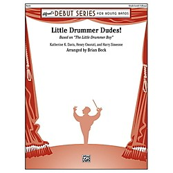 Alfred Little Drummer Dudes! Concert Band Grade 1 Set (00-41934)