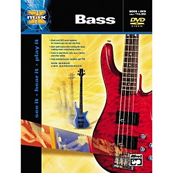 Alfred MAX Series Bass Instruction (Book/DVD) (00-22653)