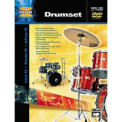 Alfred MAX Series Drumset Instruction (Book/DVD) (00-22650)