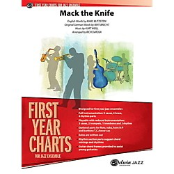 Alfred Mack the Knife Jazz Band Grade 1 Jazz Band Grade 1 Set (00-40344)