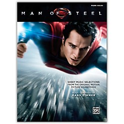 Alfred Man of Steel Sheet Music Selections Piano Solos Book (00-41524)