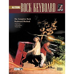 Alfred Mastering Rock Keyboard (Book/CD) (00-18442)