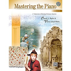 Alfred Mastering the Piano Level 4 Book & CD 4 (00-22503)