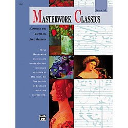 Alfred Masterwork Classics Level 1 & 2 Book & CD (00-6581)