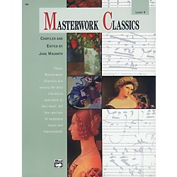 Alfred Masterwork Classics Level 4 Level 4 Book & CD (00-168)