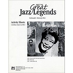 Alfred Meet the Great Jazz Legends: Textbook (00-20817)