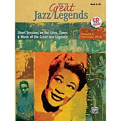 Alfred Meet the Great Jazz Legends Book & CD (00-32180)