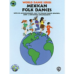 Alfred Mexican Folk Dances Book and CD (00-BMR05117)