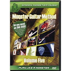 Alfred Monster Guitar Method Vol. 5 Dvd/Cd Set (41   ARD27260)