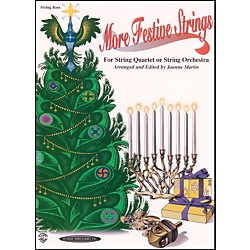 Alfred More Festive Strings Bass (Book) (00-0998)