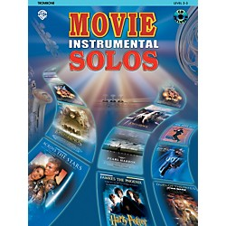 Alfred Movie Instrumental Solos Trombone Book & CD (00-IFM0312CD)