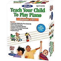 Alfred Music & Arts Teach Your Child To Play Piano Beginner's Kit (00-42343)