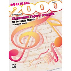 Alfred Music 2000 Classroom Theory Lessons for Secondary Students Vol. I Workbook (00-SVB9602S)